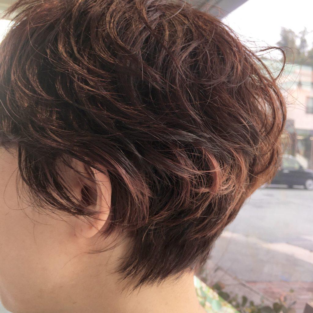 最近はヘアスタイルチェンジが多いのです♪